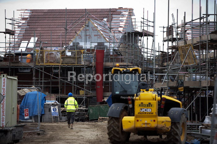 Building site, new homes Worcestershire - John Harris - 2013-11-25
