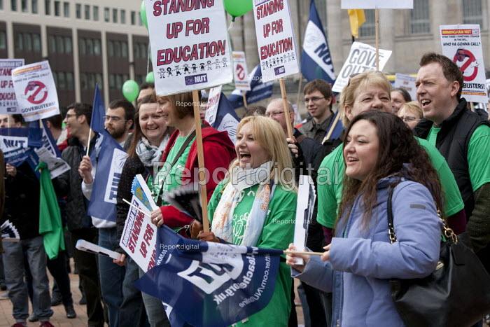 NUT strike rally, Birmingham - John Harris - 2014-03-26