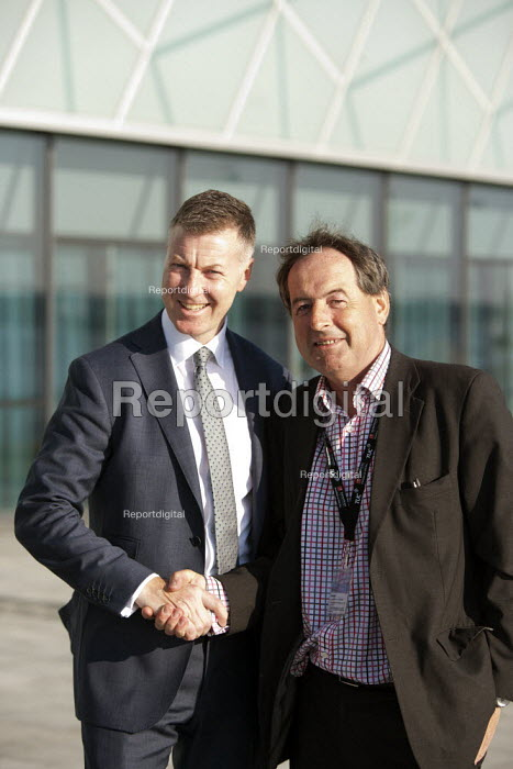 Michael Clancy Prospect with Patrick Carragher BACM-Team, TUC, Liverpool 2014 - John Harris - 2014-09-09