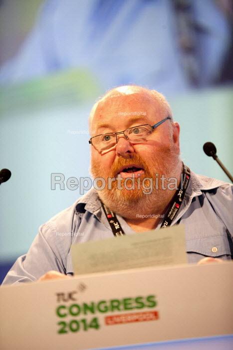 Tom James Prospect speaking, TUC, Liverpool 2014 - John Harris - 2014-09-10