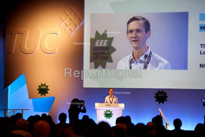 Andy Smith NUJ speaking, TUC, Liverpool 2014 - John Harris - 2014-09-10