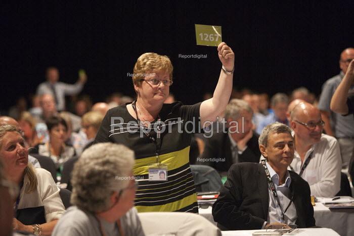 Unison card vote TUC, Liverpool 2014 - John Harris - 2014-09-10
