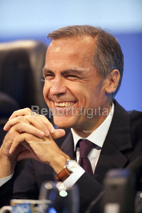 Mark Carney Governor of the Bank of England, TUC, Liverpool 2014 - John Harris - 2014-09-09