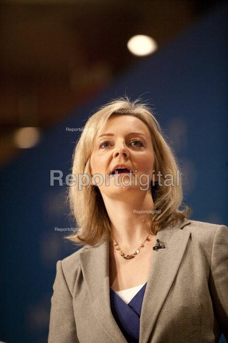 Elizabeth Truss MP, Conservative Party Conference, The ICC Birmingham - John Harris - 2014-09-29