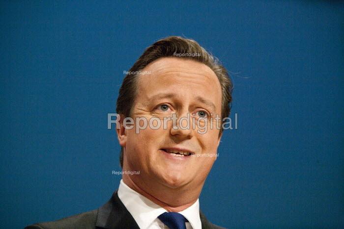 David Cameron MP speaking, Conservative Party Conference, ICC Birmingham - John Harris - 2014-10-01