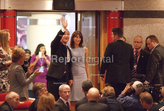 Samantha and David Cameron MP, Conservative Party Conference, ICC Birmingham - John Harris - 2014-10-01