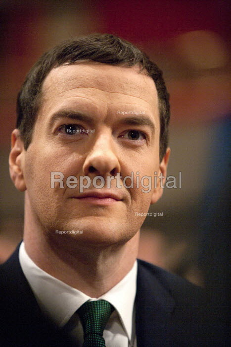 George Osborne MP, Conservative Party Conference, ICC Birmingham - John Harris - 2014-10-01