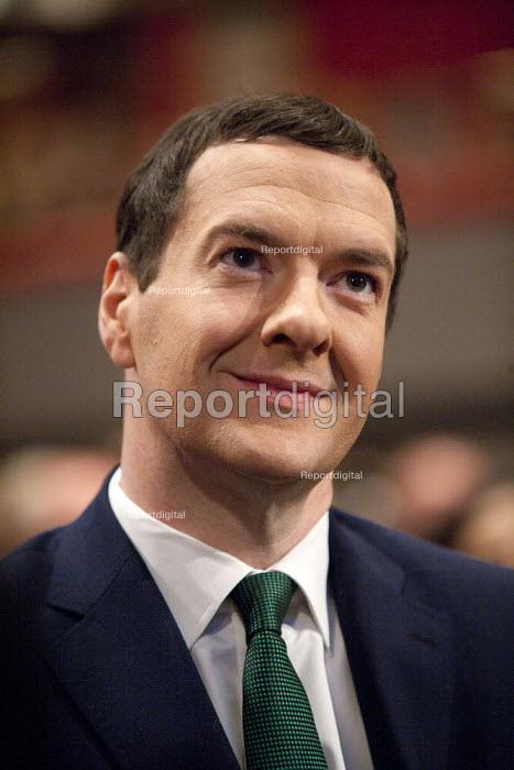 George Osborne MP, Conservative Party Conference, ICC Birmingham - John Harris - 2014-10-01