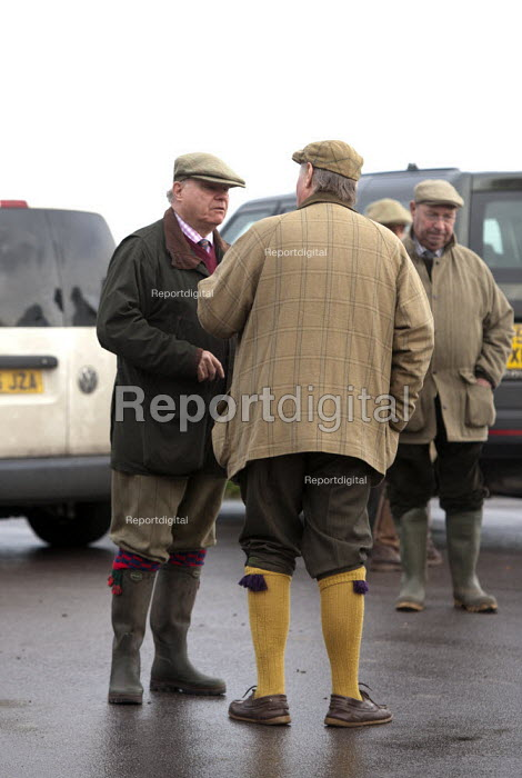Shooting party, Porlock Weir, Somerset - John Harris - 2014-11-10