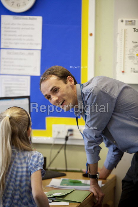 Primary school, St Richards First School, Evesham, Worcestershire - John Harris - 2015-07-06