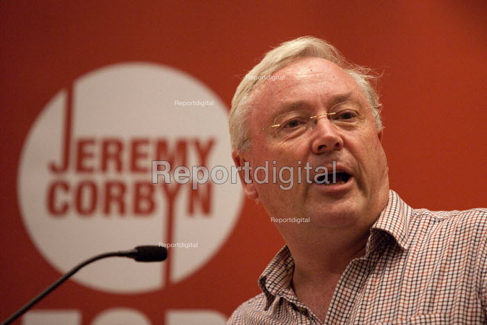 Jeremy Corbyn Rally Nottingham economist Richard Murphy speaking - John Harris - 2015-08-20