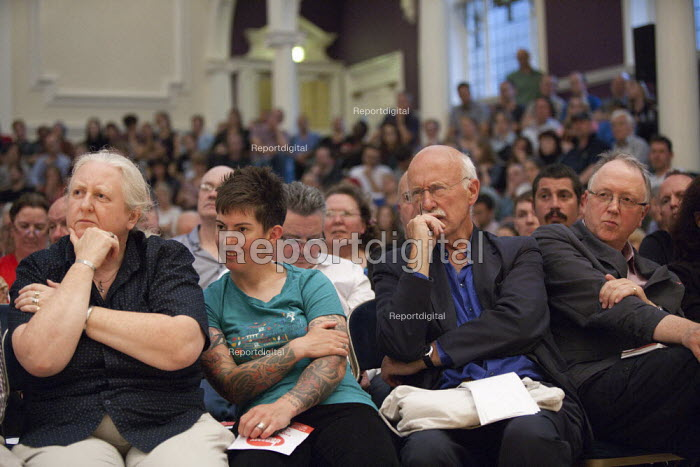 Jeremy Corbyn Rally Nottingham Michael White Guardian journalist - John Harris - 2015-08-20