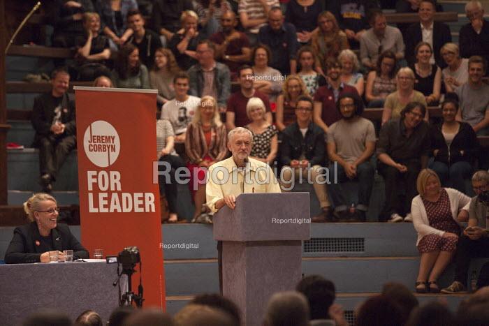 Jeremy Corbyn speaking Rally Nottingham - John Harris - 2015-08-20