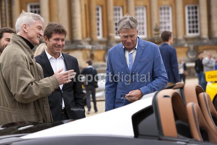 Tiff Needell and judges Salon Prive Supercar Show Blenheim Palace Oxfordshire - John Harris - 2015-09-05