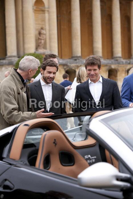Judges Salon Prive Supercar Show Blenheim Palace Oxfordshire - John Harris - 2015-09-05