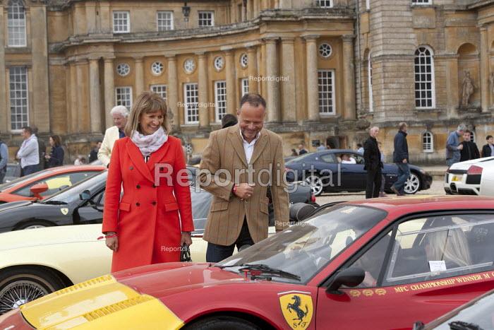 Salon Prive Supercar Show Blenheim Palace Oxfordshire Ferrari 308 GTB Vetroresina with Edward Sendall - John Harris - 2015-09-05