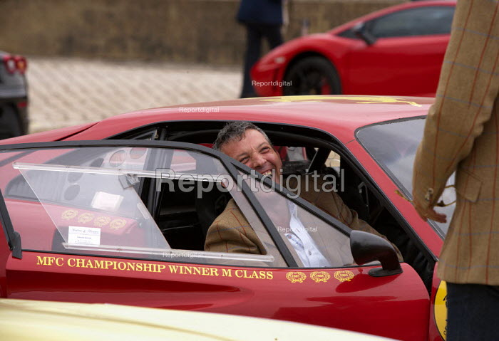 Salon Prive Supercar Show Blenheim Palace Oxfordshire Ferrari 308 GTB Vetroresina with Edward Sendall - John Harris - 2015-09-05