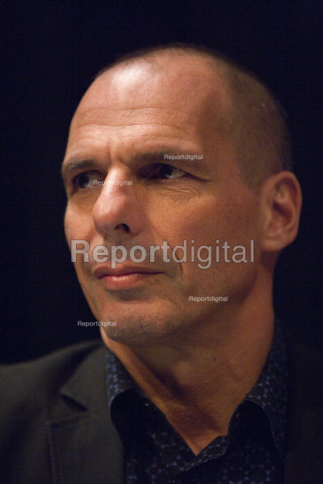 Yanis Varoufakis, Economist and former Greek Finance Minister, PCS meeting FIGHTING FOR OUR FUTURE, THERE IS AN ALTERNATIVE TO AUSTERITY, TUC conference Brighton - John Harris - 2015-09-13