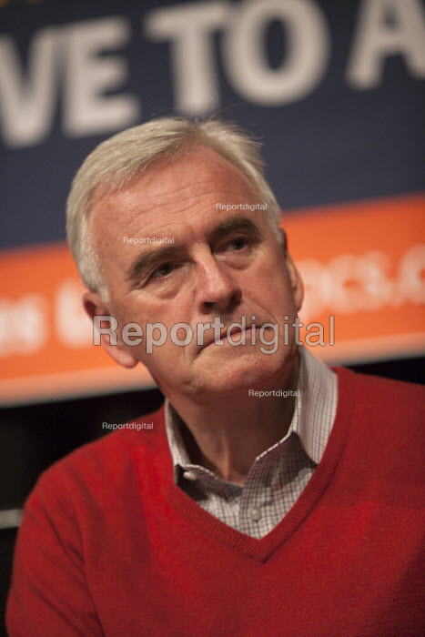 John McDonnell �MP PCS meeting FIGHTING FOR OUR FUTURE, THERE IS AN ALTERNATIVE TO AUSTERITY, TUC conference Brighton - John Harris - 2015-09-13