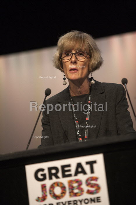 Sue Ferns Prospect speaking TUC conference Brighton - John Harris - 2015-09-14
