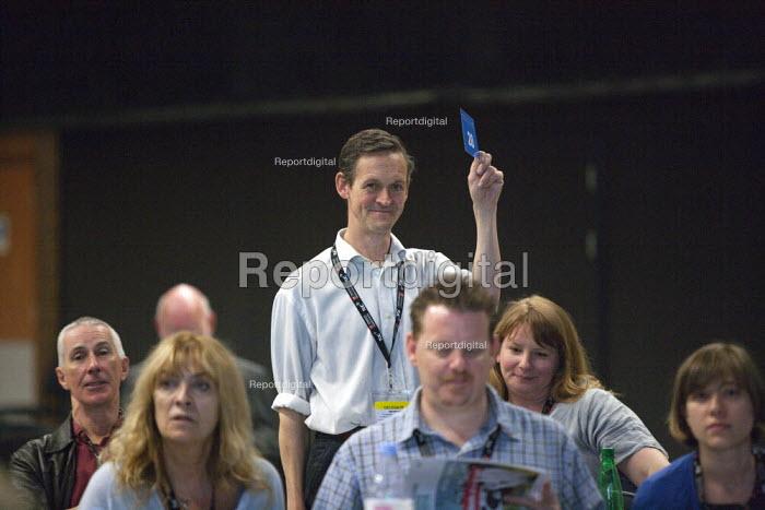 NUJ Card vote TUC conference Brighton - John Harris - 2015-09-15