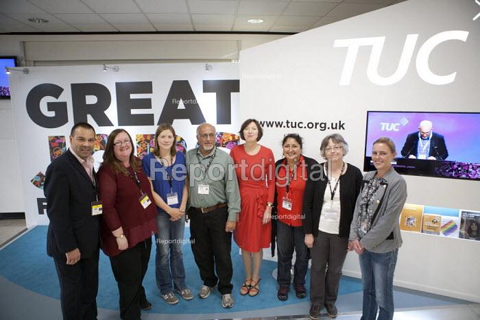 Napo delegation TUC conference Brighton - John Harris - 2015-09-15