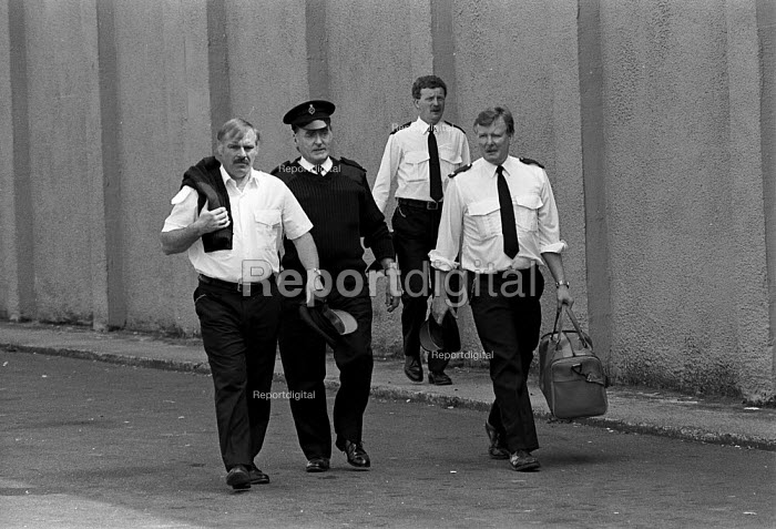 Prison Officers Risley Remand Centre - John Harris - 1989-05-03