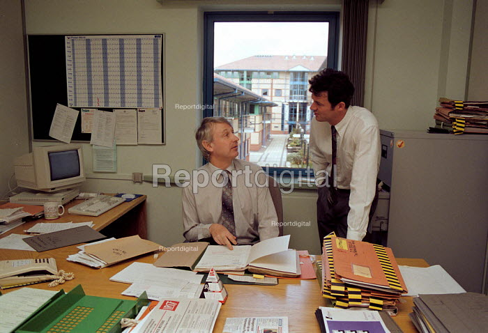 Manager Inland Revenue office Dudley - John Harris - 1994-04-13