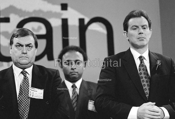 John Prescott & Tony Blair MP Labour Party Conference - John Harris - 1994-09-30