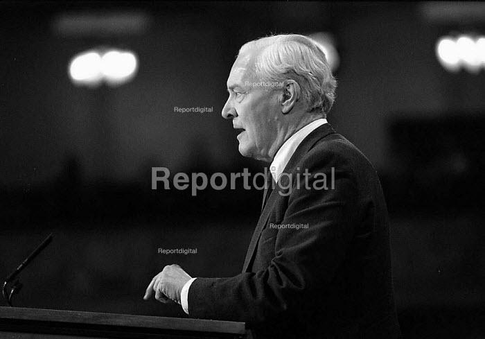 Tony Benn MP Labour Party conference - John Harris - 1994-10-01
