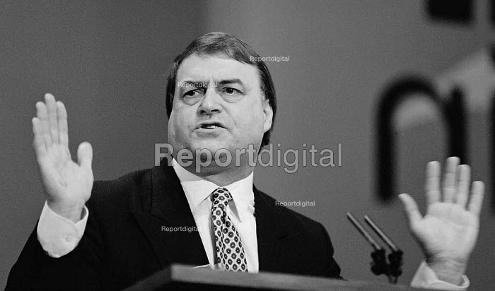 John Prescott MP Labour Party Conference 1994 - John Harris - 1994-10-01