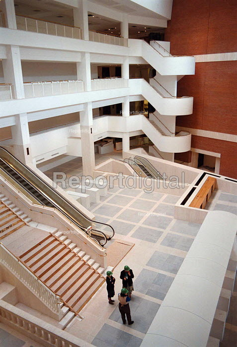 British Library under construction 10.4.95 - John Harris - 1995-05-10