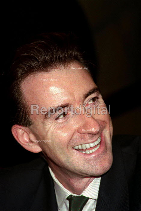 Peter Mandelson MP at Labour Party Conference 1995 - John Harris - 1995-10-01