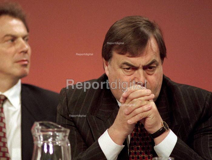 Tony Blair and John Prescott at Labour Party Conference 1995 - John Harris - 1995-10-01