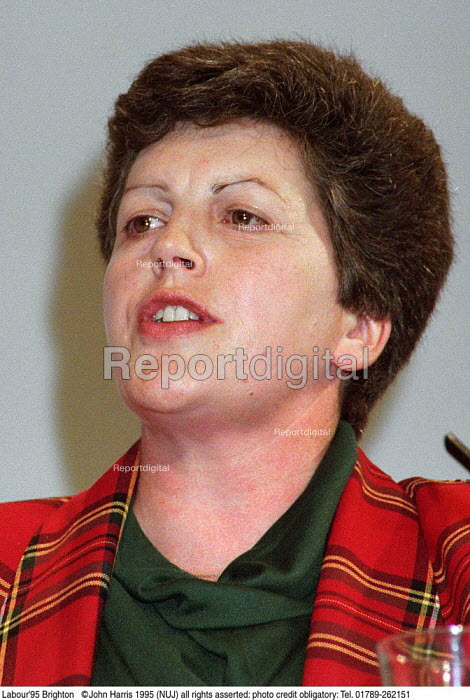 Pauline Green MEP Leader Socialist Group at Labour Party Conference 1995 - John Harris - 1995-10-01