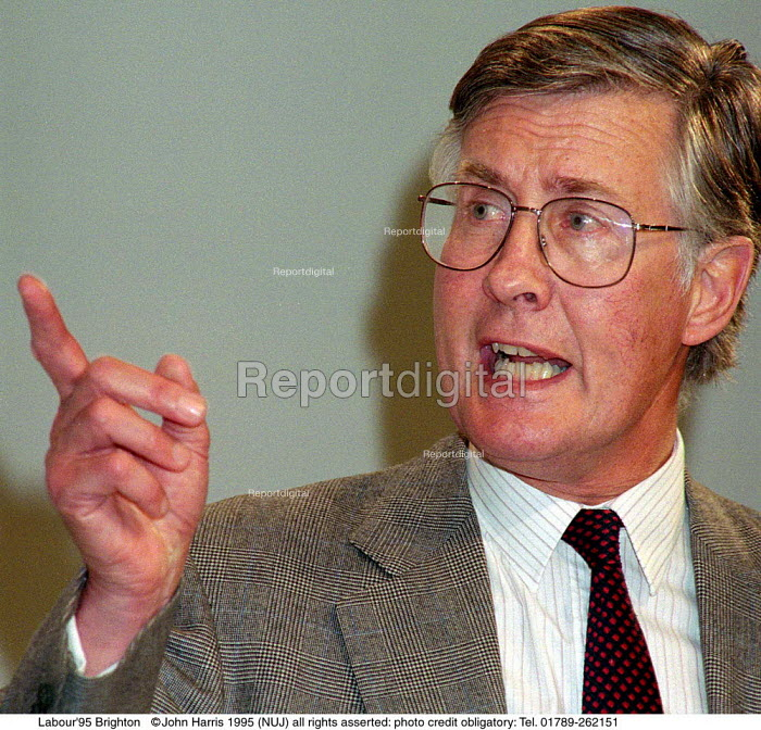 Michael Meacher MP at Labour Party Conference 1995 - John Harris - 1995-10-01