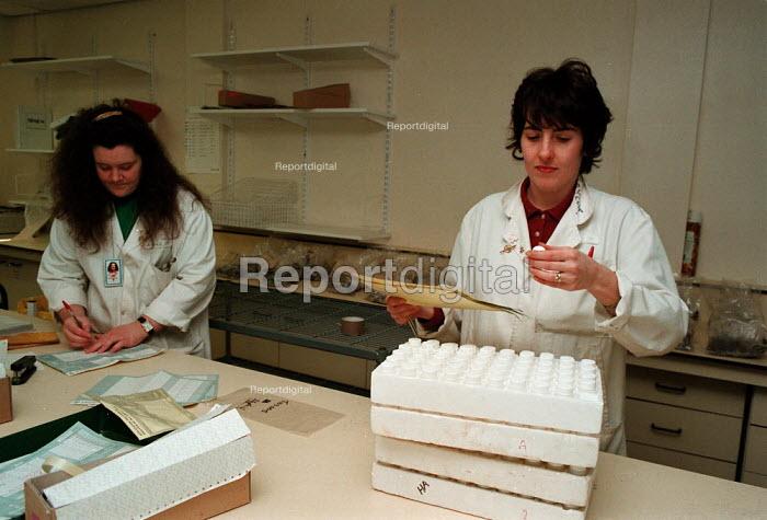 Handling samples in ADAS laboratory  ... - John Harris - 1996-06-09