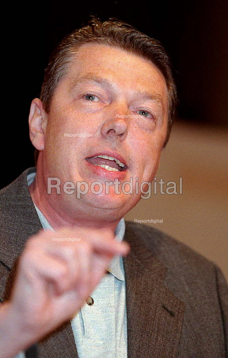 Alan Johnson CWU speaking at TUC Conference 1996 - John Harris - 1996-10-01