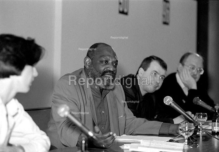 Darcus Howe  Unions'96 conference TUC Congress House 23/11/96 - John Harris - 1996-11-23