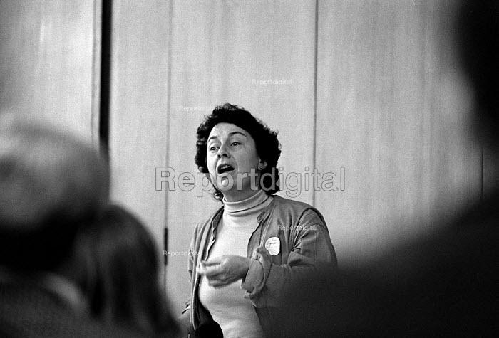Nina Fishman Unions'96 conference TUC Congress House 23/11/96 - John Harris - 1996-11-23