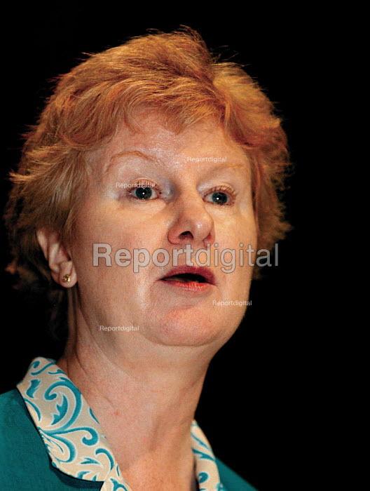Rita Donaghy Unison speaking at TUC Conference 1999 - John Harris - 1999-09-15