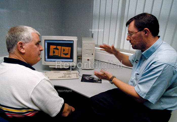 Training in 3D modeling and computer aided design of engineering components and computer controlled production tools at The Castings Development Centre - John Harris - 1999-09-22