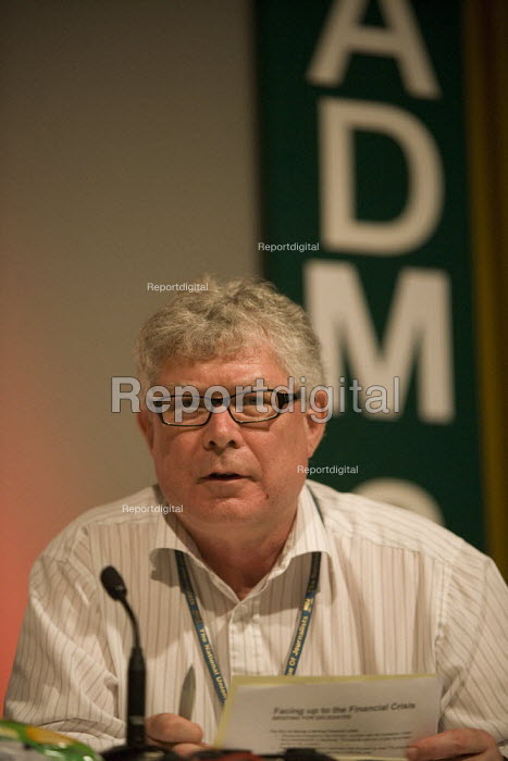 Dr John Lister NUJ ADM 2009 - John Harris - 2009-11-20
