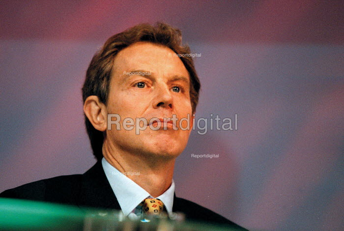 Prime Minister Tony Blair MP Labour Party Conference 1999 - John Harris - 1999-09-29