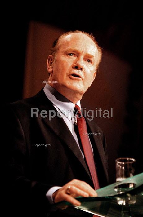 John Reid MP speaking Labour Party Conference 1999 - John Harris - 1999-09-28
