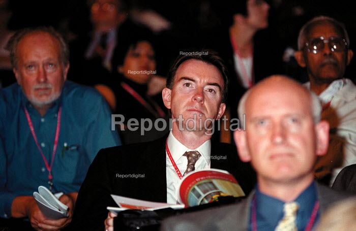 Peter Mandelson MP Labour Party Conference 1999 - John Harris - 1999-09-26