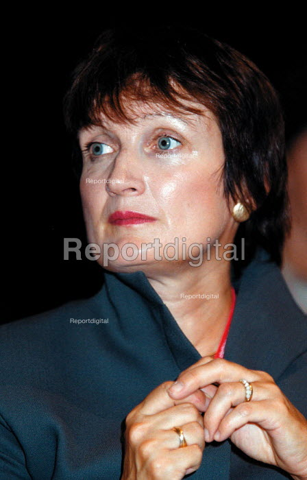 Tessa Jowell MP Labour Party Conference 1999 - John Harris - 1999-09-28