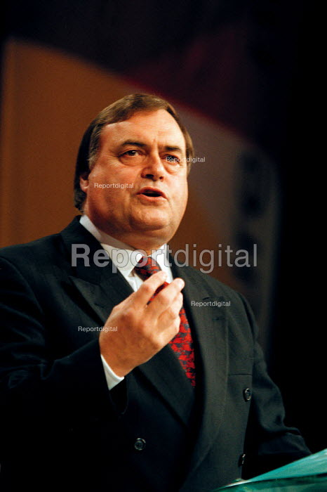 John Prescott MP speaking Labour Party Conference 1999 - John Harris - 1999-09-29