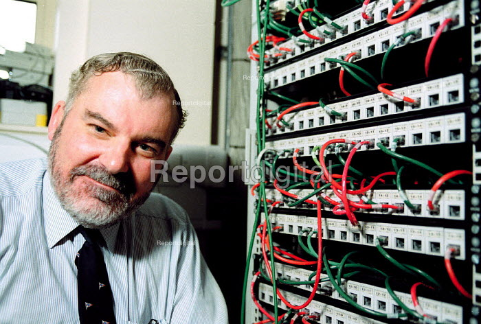 IT manager with company computer network connections. - John Harris - 2000-04-03