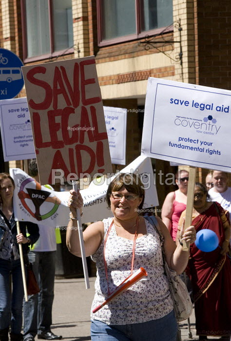 Protest to save legal aid, Coventry - John Harris - 2011-05-25